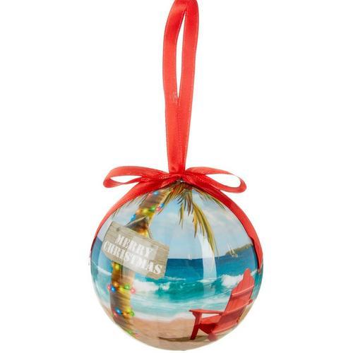close - Brighten The Season Merry Christmas Adirondack Ball Ornament