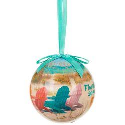 Brighten the Season Adirondack 2019 Florida Ball Ornament