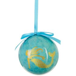 Brighten the Season Mermaid Ball Ornament