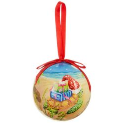 Brighten the Season Christmas Flip Flop Ball Ornament