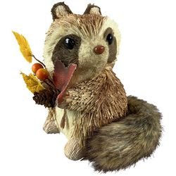 Brighten the Season Harvest Raccoon Figurine