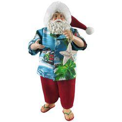 Brighten the Season 11'' Beach Santa Figurine