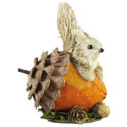 Brighten the Season 6'' Squirrel Acorn Figurine