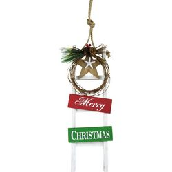 Brighten the Season 23'' Merry Christmas Ladder Wall Decor