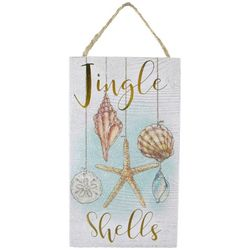 Brighten the Season 7'' Jingle Shells Wall Sign