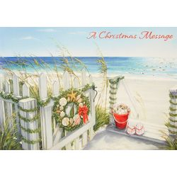 Brighten the Season Christmas Message Greeting Cards
