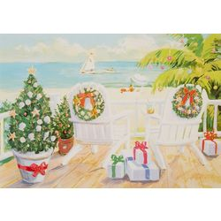 Brighten the Season Holiday Deck Greeting Cards
