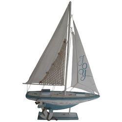 Brighten the Season Seaside Christmas Sailboat Figurine