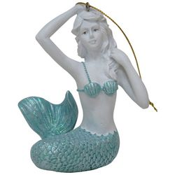 Brighten the Season Seaside Christmas Mermaid Ornament