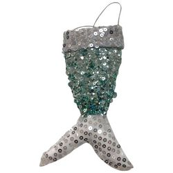 Brighten the Season Mermaid Tail Gift Card Holder Ornament