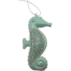 Brighten the Season Mosaic Seahorse Ornament