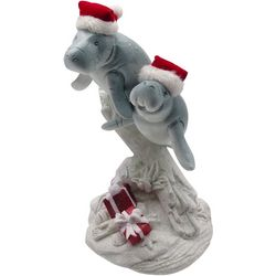 Brighten The Season Fairytale Holiday Manatees Figurine