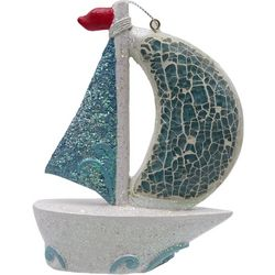 Brighten the Season Florida Bealls Mosaic Sailboat Ornament