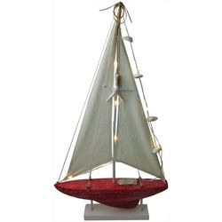 Brighten the Season Florida Bealls LED Sailboat Figurine