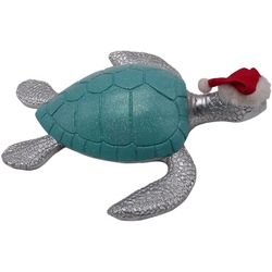 Brighten the Season Florida Bealls Christmas Turtle Figurine