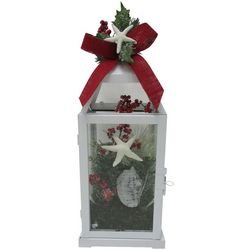 Brighten the Season 14'' Starfish Lantern Decor
