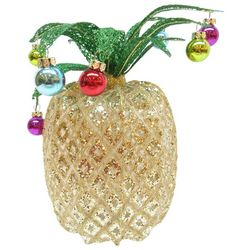 Brighten the Season Palmingo Posh Holiday Pineapple Decor