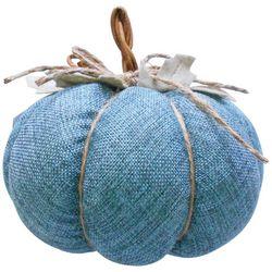 Brighten The Season Burlap Stuffed Pumpkin
