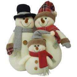 Brighten the Season Plush Snowman Trio