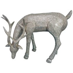 Brighten the Season Standing Deer Figurine