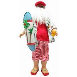 Brighten the Season 18'' Beach Santa Figurine
