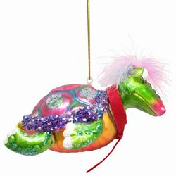 Brighten the Season Sea Turtle Tie Ornament