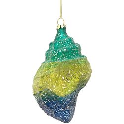 Brighten the Season Ombre Conch Shell Ornament