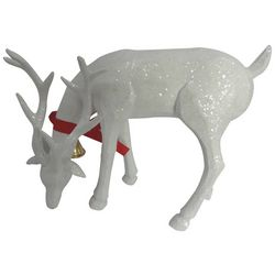 Brighten the Season Standing Deer Glitter Figurine