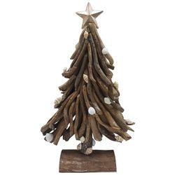 Brighten the Season 11'' Driftwood Tree Star Figurine