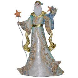 Brighten the Season 18'' Capiz Beach Santa Figurine