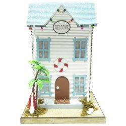Brighten the Season 12'' Beach House Welcome Figurine