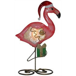 Brighten the Season Palmingo Posh Flamingo Tealight Holder