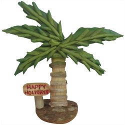 Brighten the Season Palmingo Posh Driftwood Palm Tree Decor