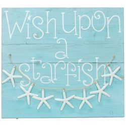Brighten the Season Sandy Shore Wish Upon A Star Wall Sign