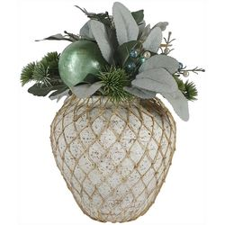 Brighten the Season Sandy Shore Shell Floral Arrangment