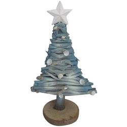 Brighten the Season Sandy Shores Driftwood Christmas Tree