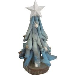 Brighten the Season Sandy Shores Christmas Tree With Star
