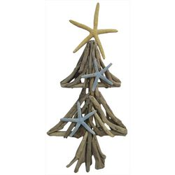 Brighten the Season Sandy Shores Starfish Driftwood Tree