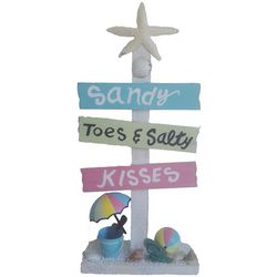 Brighten the Season Fairytale Sandy Toes Sign Decor
