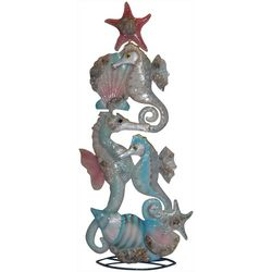 Brighten the Season Fairytale Capiz Seahorse Shell Tree