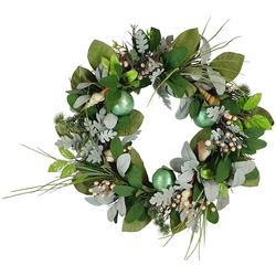 Brighten the Season Fairytale Berries and Shells Wreath