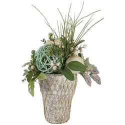 Brighten the Season Fairytale Shell Floral Pot Arrangment