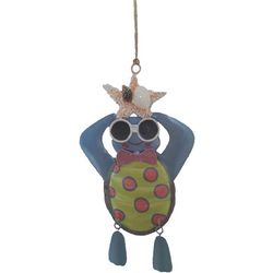 Brighten the Season Brights Turtle With Glasses Ornament