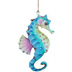 Brighten the Season Brights Tin Seahorse Ornament