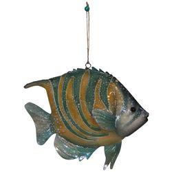 Brighten the Season Brights Yellow Striped Fish Ornament