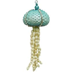 Brighten the Season Sandy Shore Sea Urchin Shells Ornament