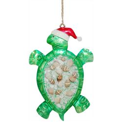 Brighten the Season Palmingo Posh Turtle Ornament