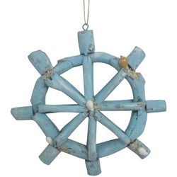 Brighten the Season Florida Bealls Driftwood Wheel Ornament