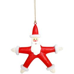 Brighten the Season Florida Bealls Starfish Santa Ornament