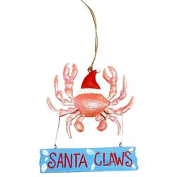 Brighten the Season Florida Bealls Santa Claws Crab